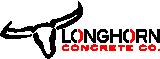 Longhorn Concrete Co. Logo